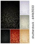 Seamless Wallpaper Pattern  Set ...