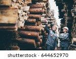 wood worker storage | Shutterstock . vector #644652970