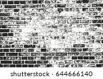 distressed overlay texture of... | Shutterstock .eps vector #644666140