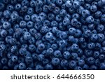 Fresh Blueberry With Drops Of...