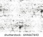 distressed overlay texture of...   Shutterstock .eps vector #644667643