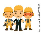 Construction Workers Team...