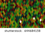 dark green  red vector... | Shutterstock .eps vector #644684158