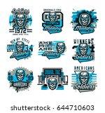vector illustration on a... | Shutterstock .eps vector #644710603