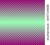 halftone abstract background in ... | Shutterstock .eps vector #644714008