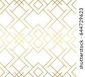 golden texture. seamless... | Shutterstock .eps vector #644729623
