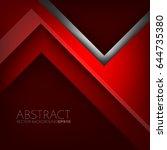 red vector background  ... | Shutterstock .eps vector #644735380