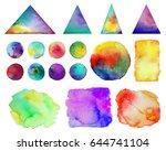 vector illustration. . colorful ... | Shutterstock .eps vector #644741104