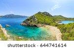a panorama of porto timoni... | Shutterstock . vector #644741614