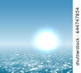 summer sea | Shutterstock .eps vector #644747854