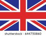 flag of united kingdom | Shutterstock .eps vector #644750860