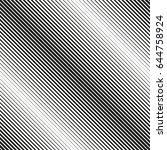 seamless diagonal halftone... | Shutterstock .eps vector #644758924