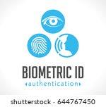 logo   biometric id...   Shutterstock .eps vector #644767450