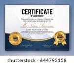 multipurpose professional... | Shutterstock .eps vector #644792158