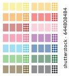 vector gingham pattern... | Shutterstock .eps vector #644808484