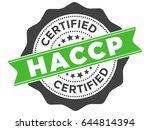 haccp hazard analysis critical... | Shutterstock .eps vector #644814394