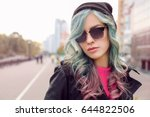 Trendy Ideas.young Woman With...
