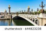 Panorama Of Pont Alexandre Iii...