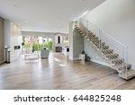 minimalist foyer boasts... | Shutterstock . vector #644825248