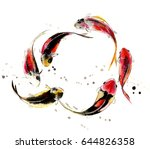chinese traditional... | Shutterstock . vector #644826358