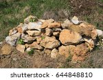 Small photo of Field stones are biotope for reptiles