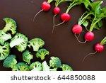 Vegetables Mixture. Raw...