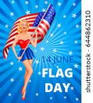 Flag Day In Usa 14th Of June....