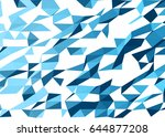 vector color abstract geometric ... | Shutterstock .eps vector #644877208