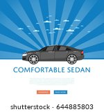 website design with business... | Shutterstock .eps vector #644885803