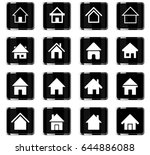 home web icons for user... | Shutterstock .eps vector #644886088