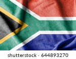 south africa flag | Shutterstock . vector #644893270