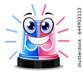 vector illustration of police... | Shutterstock .eps vector #644903113