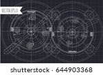 abstract technology background... | Shutterstock .eps vector #644903368
