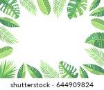 vector illustration. green... | Shutterstock .eps vector #644909824