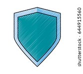 badge security emblem | Shutterstock .eps vector #644915560