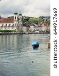 lucerne  switzerland | Shutterstock . vector #644917669