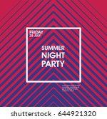 minimal poster design.... | Shutterstock .eps vector #644921320
