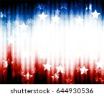 abstract image of the american... | Shutterstock .eps vector #644930536