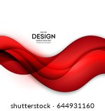 red vector template abstract... | Shutterstock .eps vector #644931160