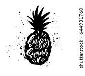 hello summer. creative and...   Shutterstock .eps vector #644931760