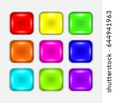 set of colorful buttons on a... | Shutterstock .eps vector #644941963