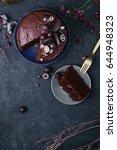 Chocolate Layered Cake With...