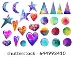 illustration. . colorful... | Shutterstock . vector #644993410