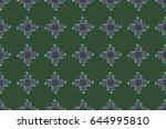 raster illustration. abstract... | Shutterstock . vector #644995810