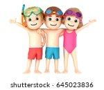 3d Render Of A Kids Wearing...