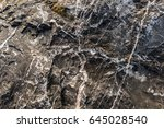 rough stones created naturally. ... | Shutterstock . vector #645028540