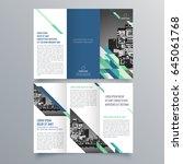 brochure design  brochure... | Shutterstock .eps vector #645061768