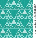abstract geometric hipster...   Shutterstock .eps vector #645098986