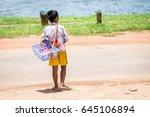 siem reap  cambodia   july 27 ... | Shutterstock . vector #645106894