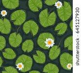 Seamless Vector Pond Texture...